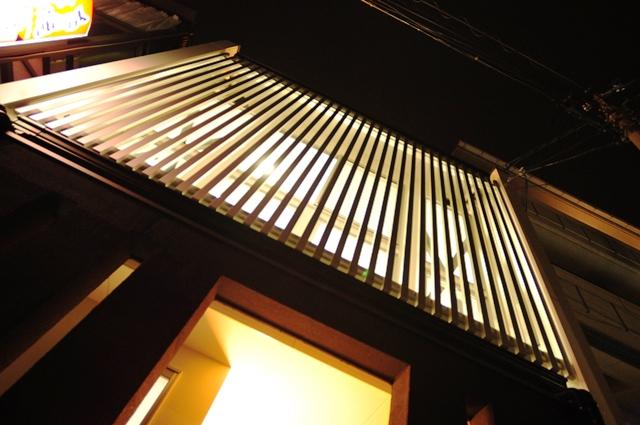 注文住宅 京都 東山区 螺旋階段 狭小住宅
