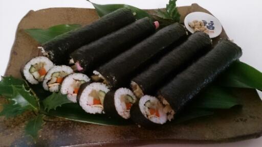 節分    ~母の巻き寿司~