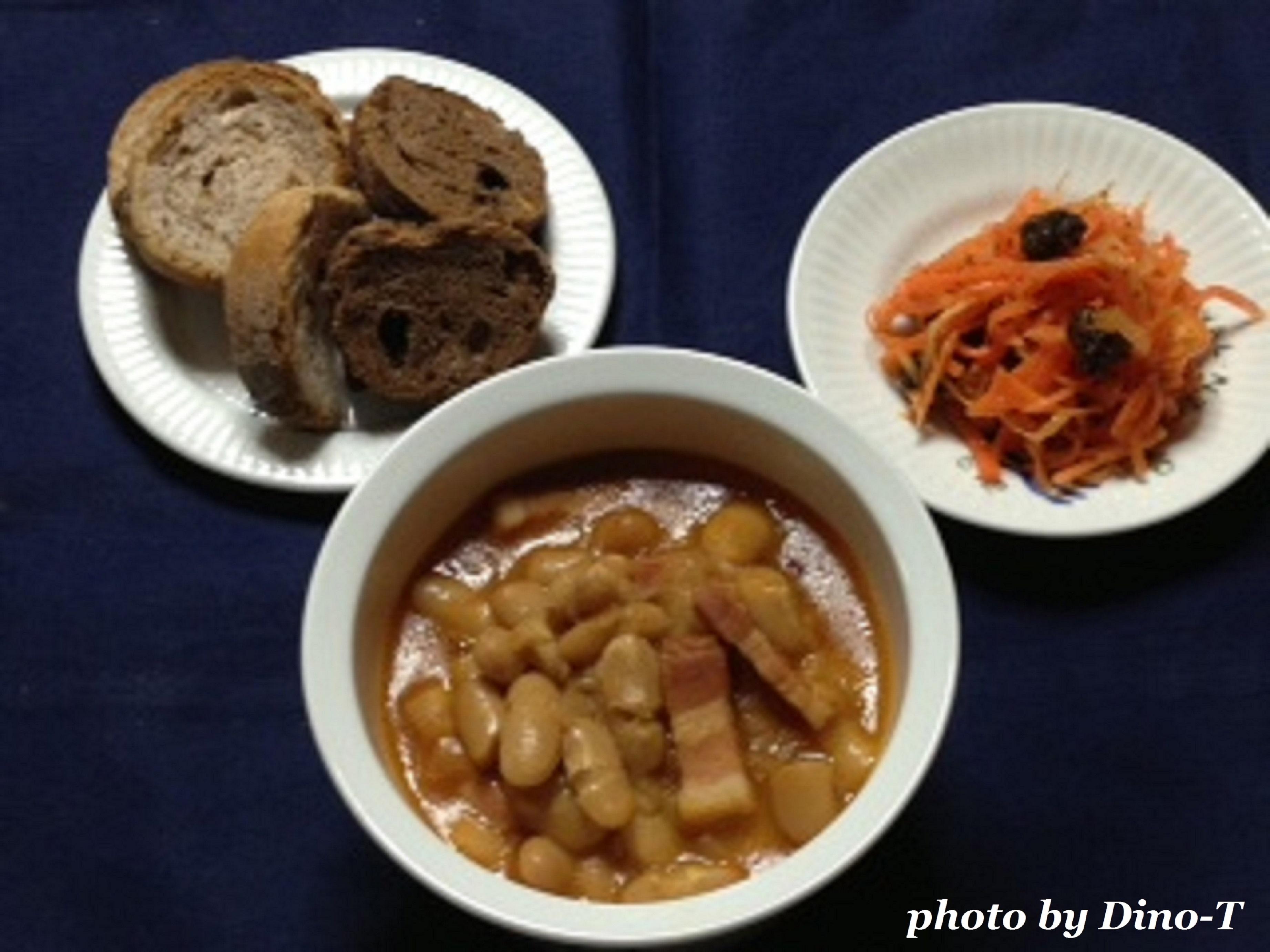 白いんげん豆とパンチェッタのチリ2