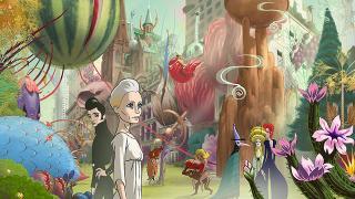 『コングレス未来学会議』 途中からサイケデリックな色合いのアニメ作品へと変貌する。