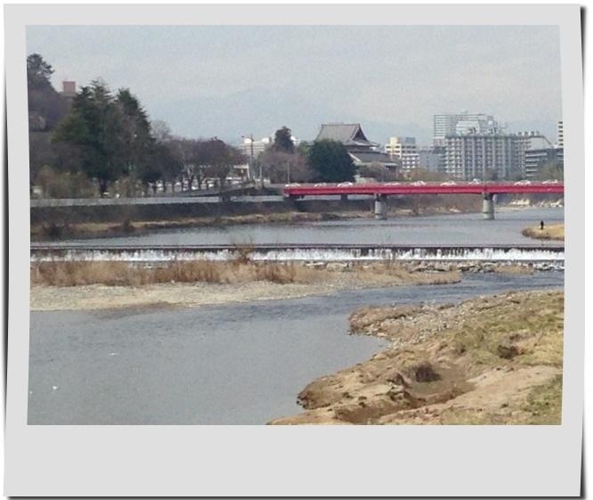 広瀬川 滝