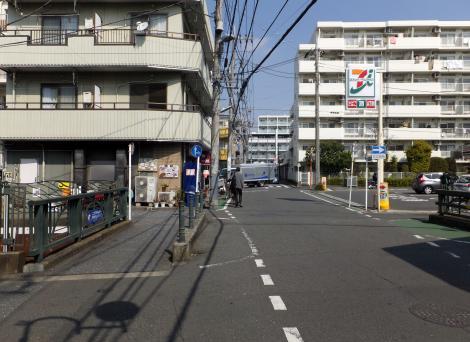 二子塚橋より北方向を見る