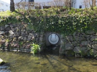 二ケ領用水・雨水下水管フラップゲート