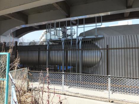 東京水道長沢浄水場系1600mm送水管