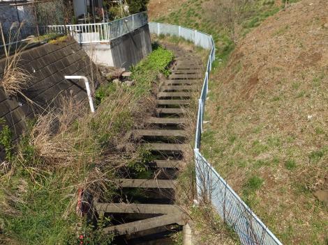 平瀬川・企業団西長沢浄水場北側
