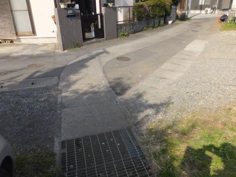 長沢中学南平瀬川源流付近