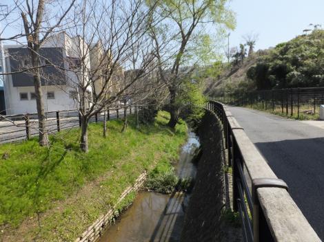 平瀬川・谷戸山橋付近