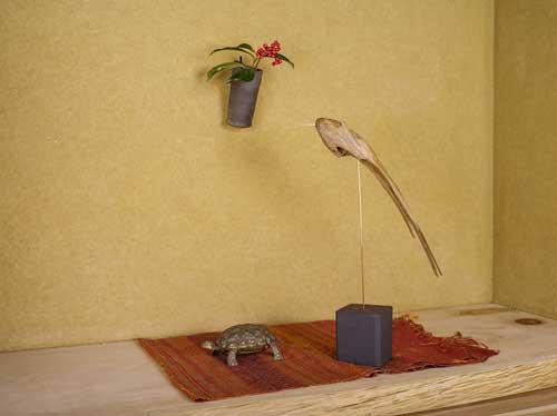新作 「流木の鳥」-2