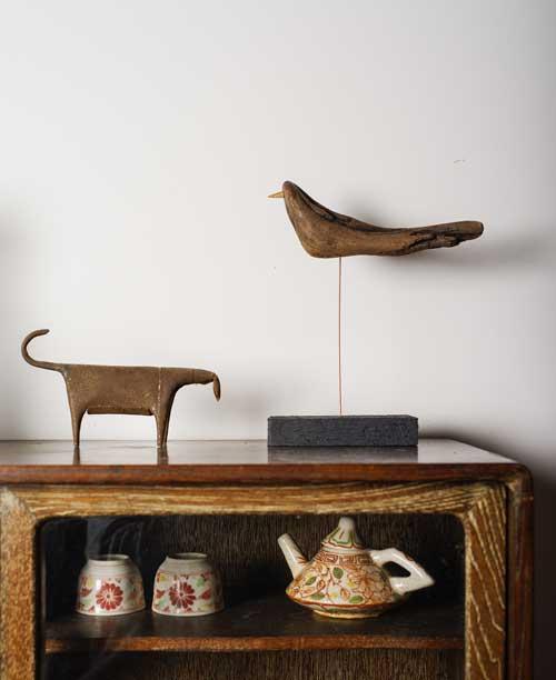 新作 「流木の鳥」-4