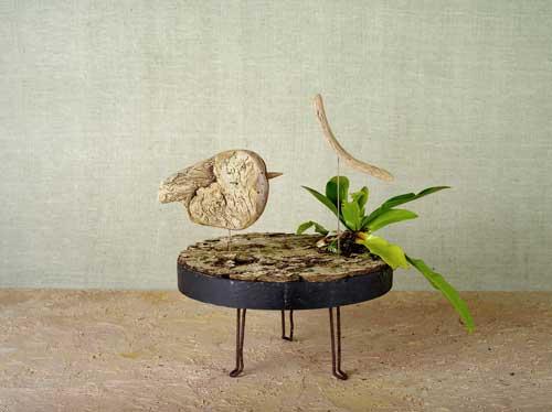 新作 「流木の鳥」-9