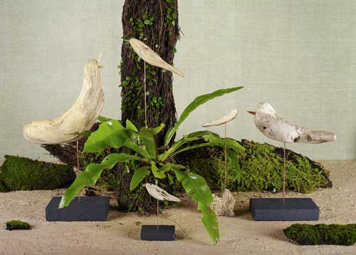 新作 「流木の鳥」-12