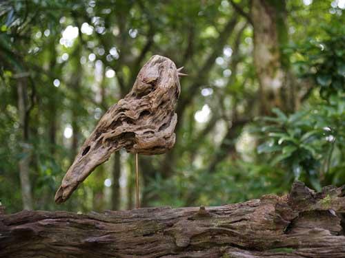 流木の鳥ー展望台ー1