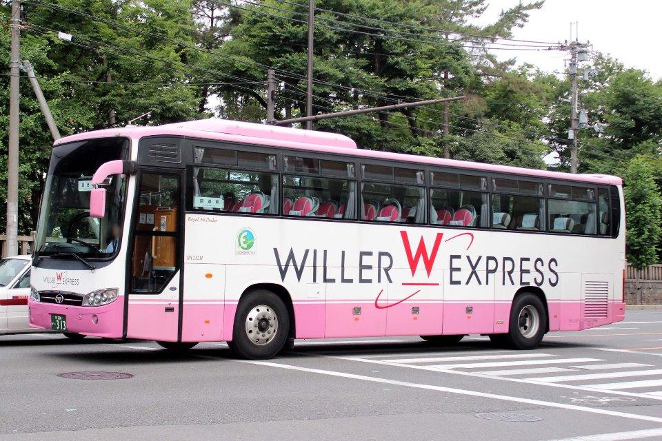 WILLER EXPRESS西日本 か313