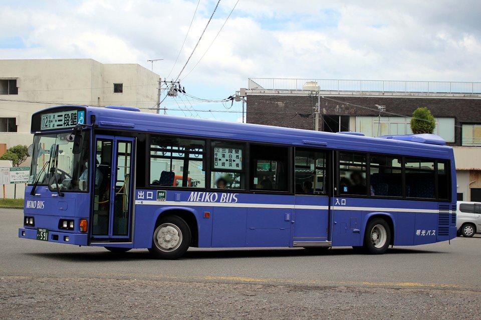 明光バス か591