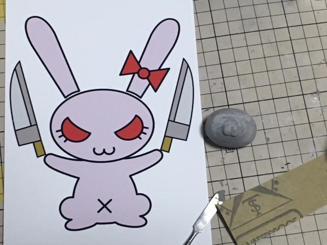 ウサギ作製中