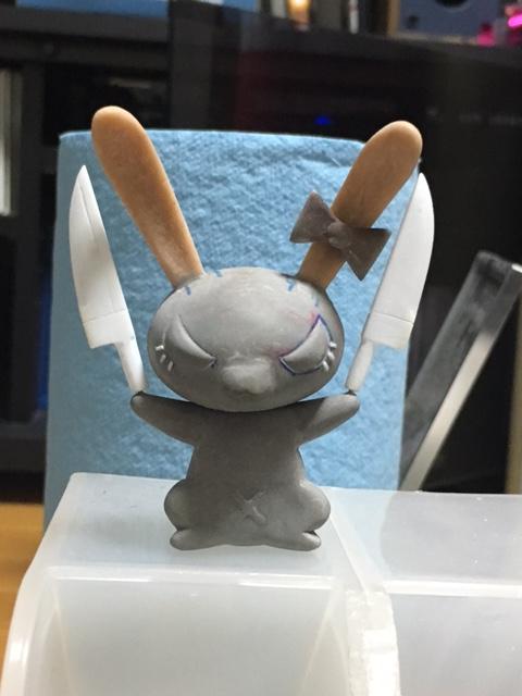 ウサギ完成