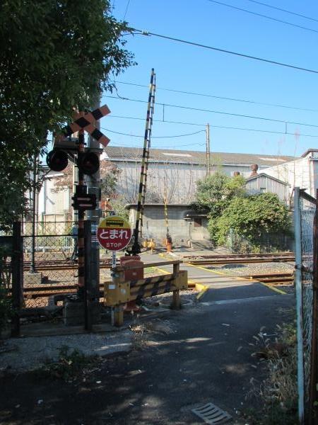 木津川駅踏切