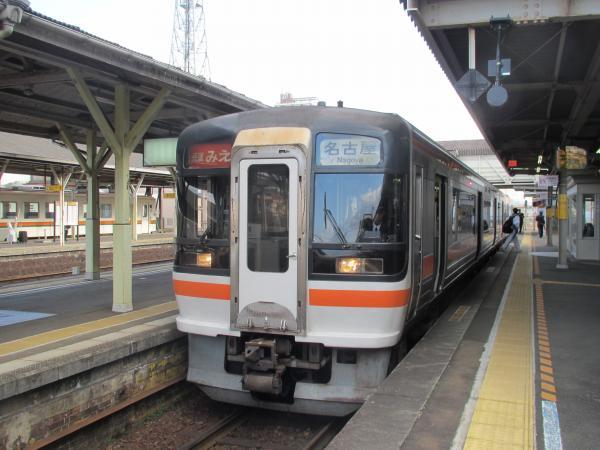 快速みえ(松阪駅)