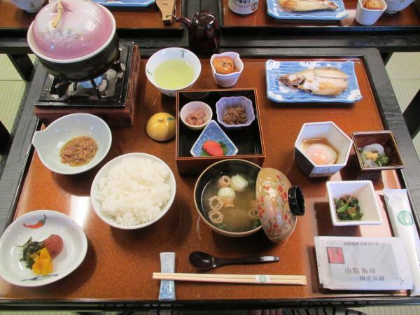 緑風閣朝食