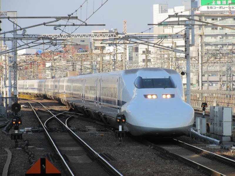 名古屋駅のぞみ