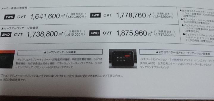 スズキ新型イグニスHV4