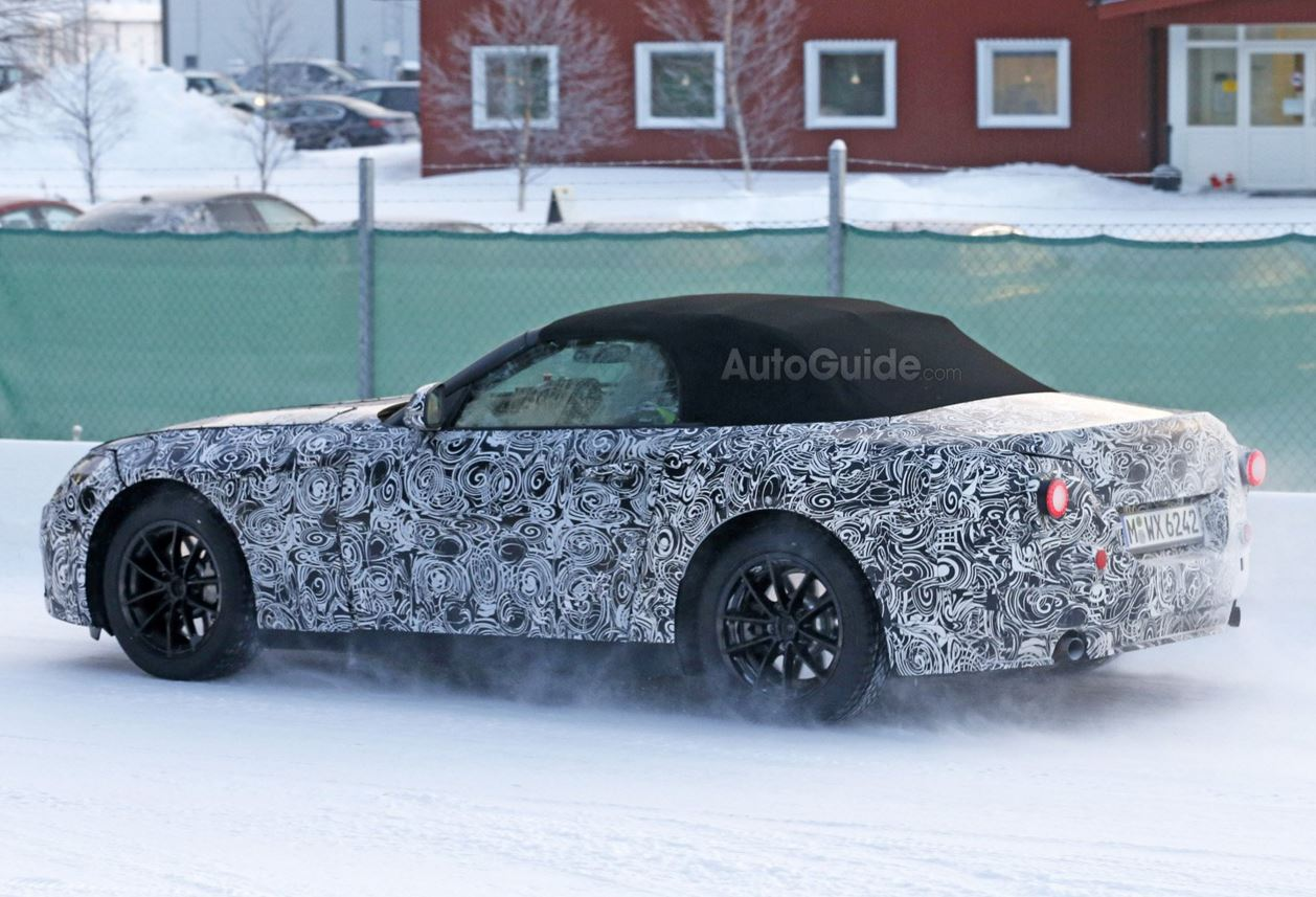 BMW Z5 スパイ2