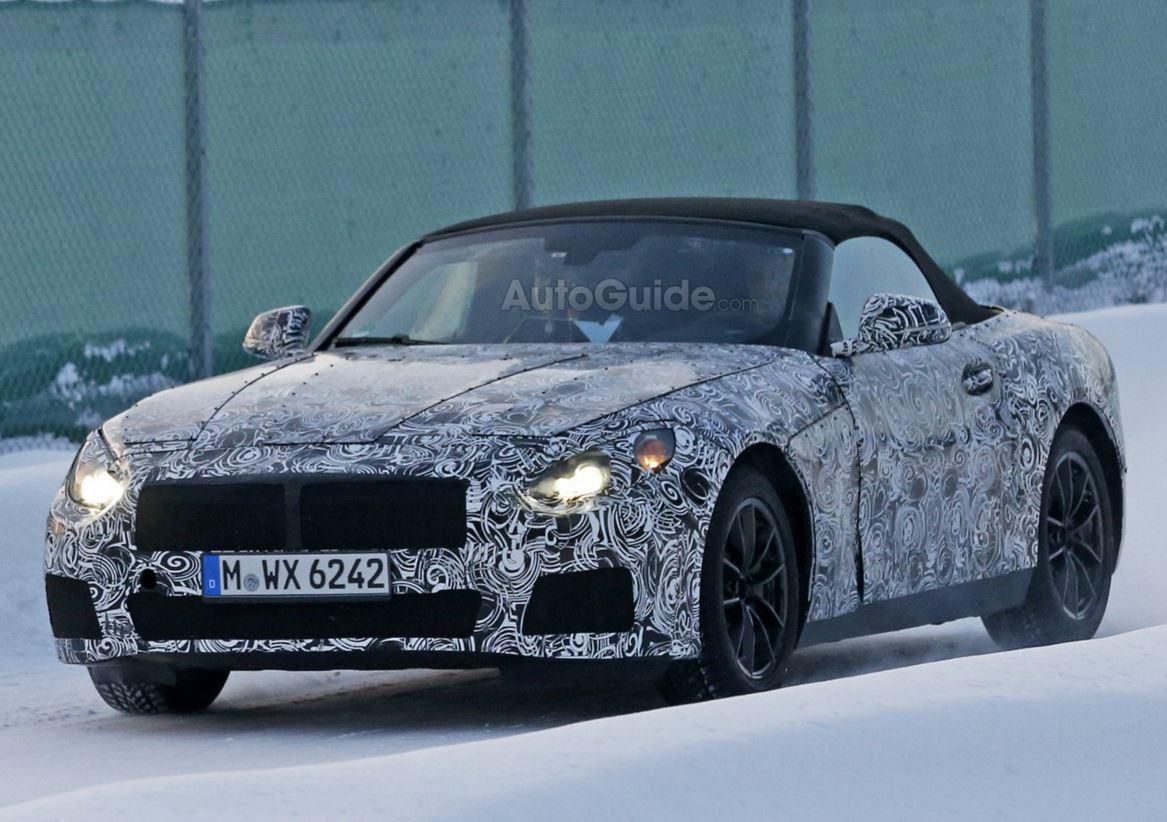 BMW Z5 スパイ