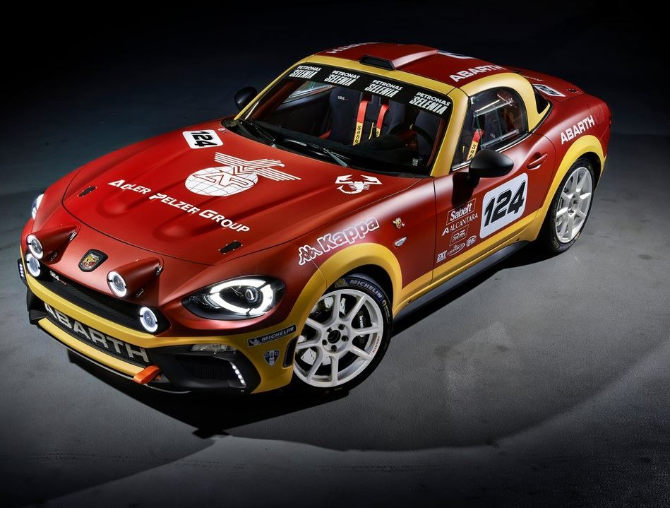 Fiat 124 Rally Abarth 2017 01