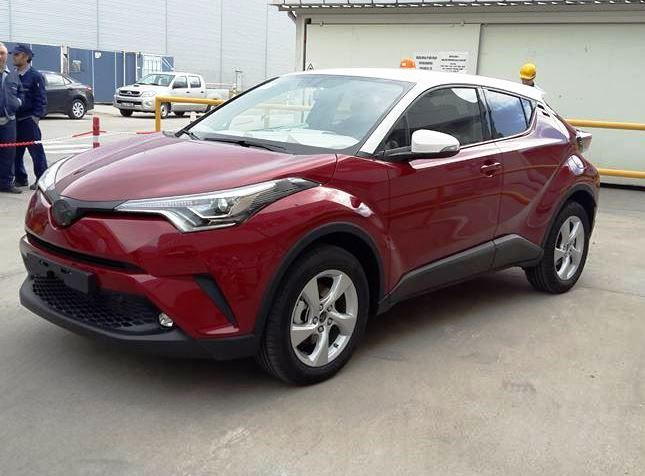 toyota C-HR 2017 実車
