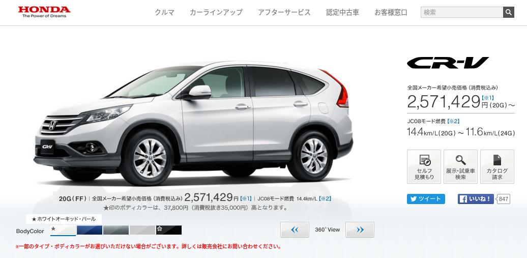 CR V Honda