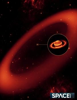 土星の輪1