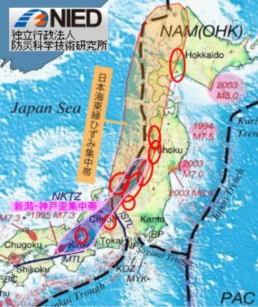 新潟神戸歪集中帯