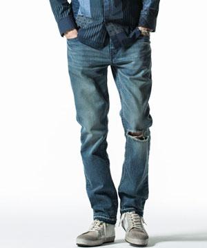 USED加工テーパードPT パンツ  メンズ