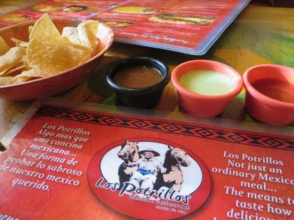Los Potrillos / お気に入りメキシカンレストラン-2, 2016-3-23