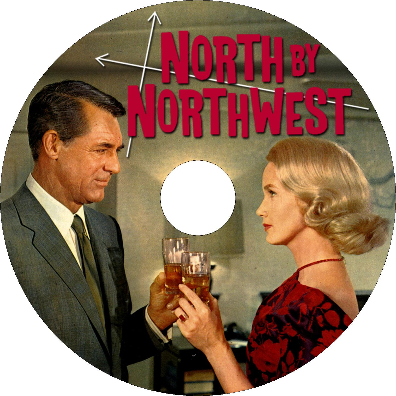 北北西に進路を取れ ラベル