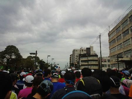 鹿児島マラソン 8:10