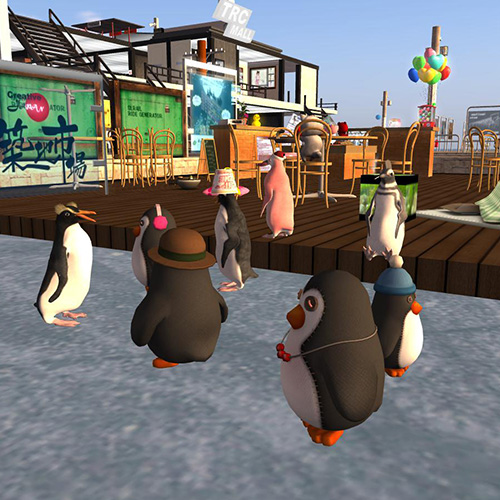 Secondlife ペンギンアバター
