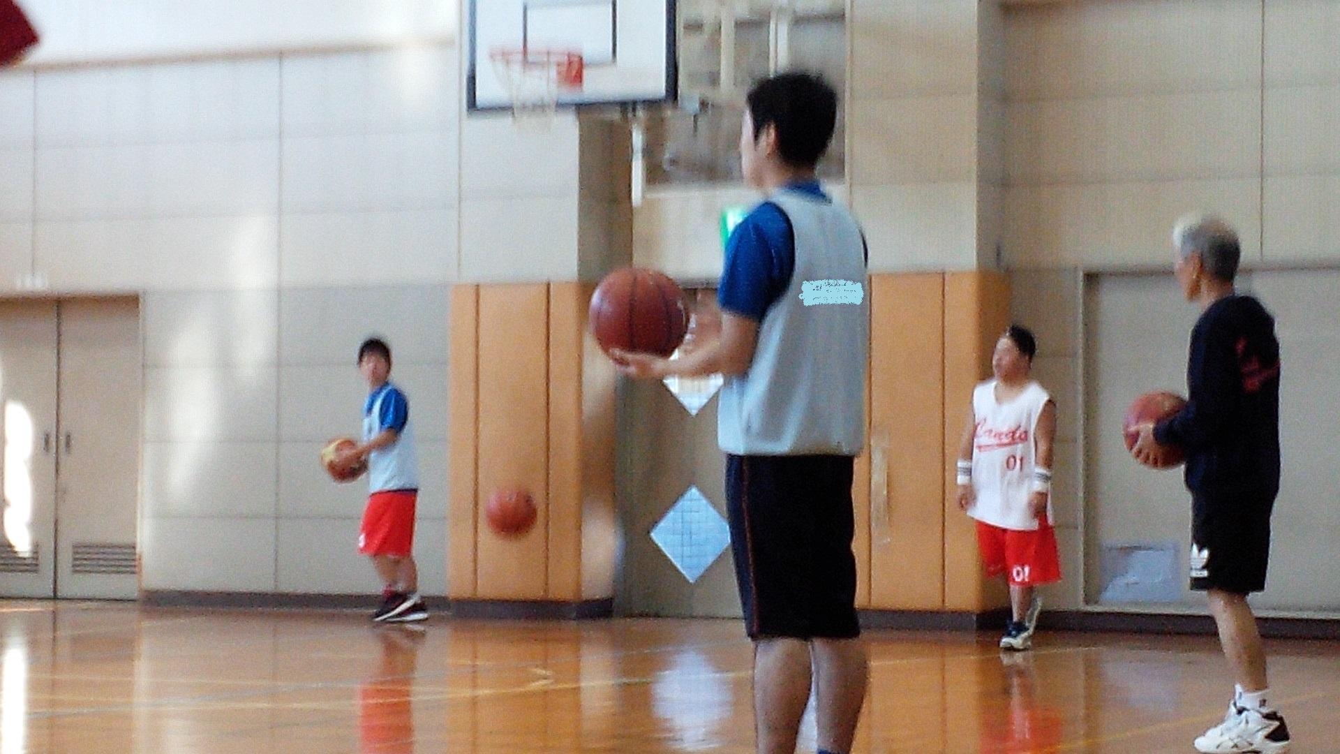 SONバスケ練習12月③