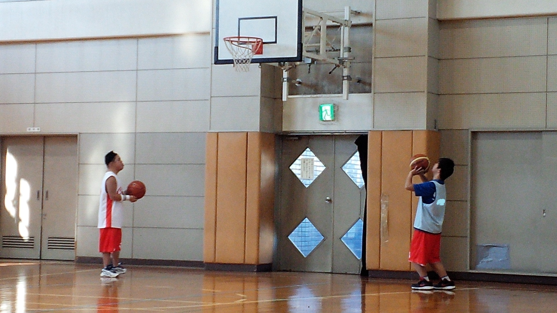 SONバスケ練習12月①