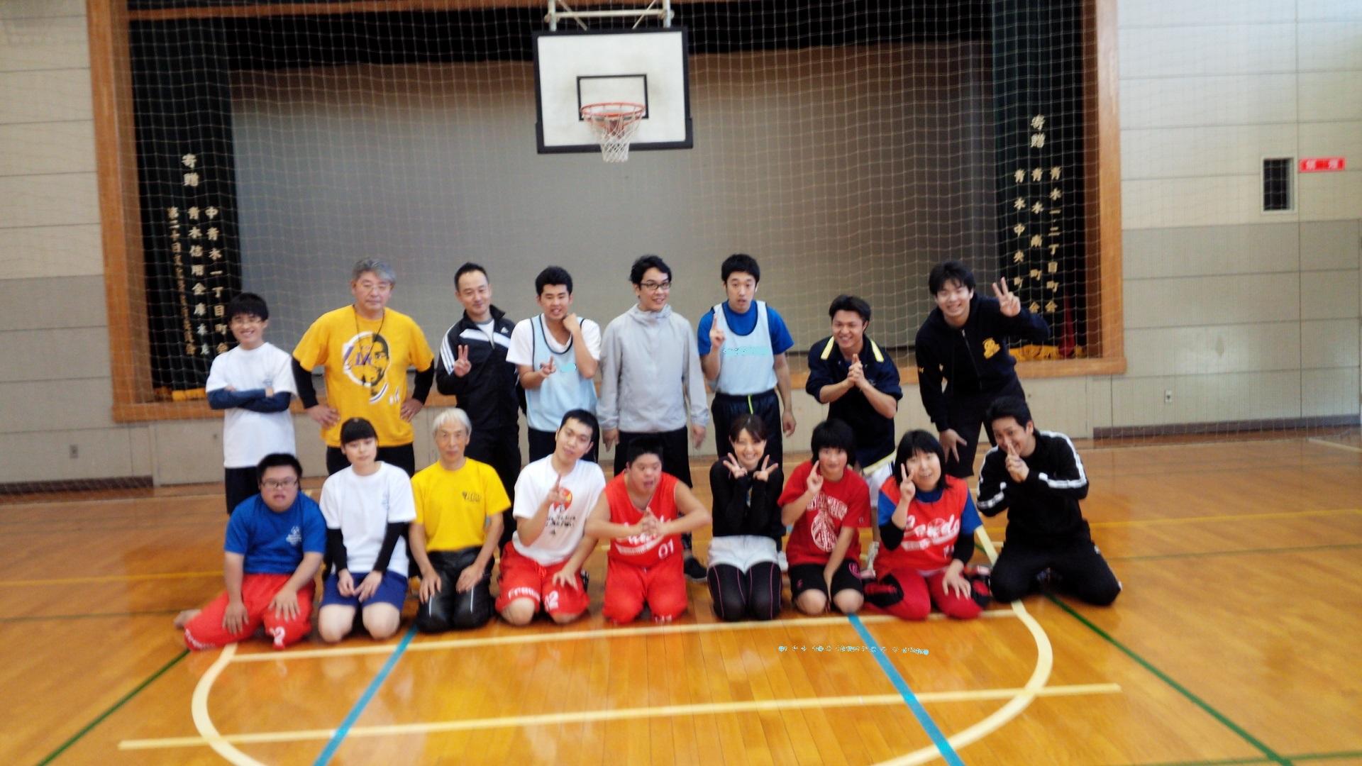 SONバスケ練習12月1-5
