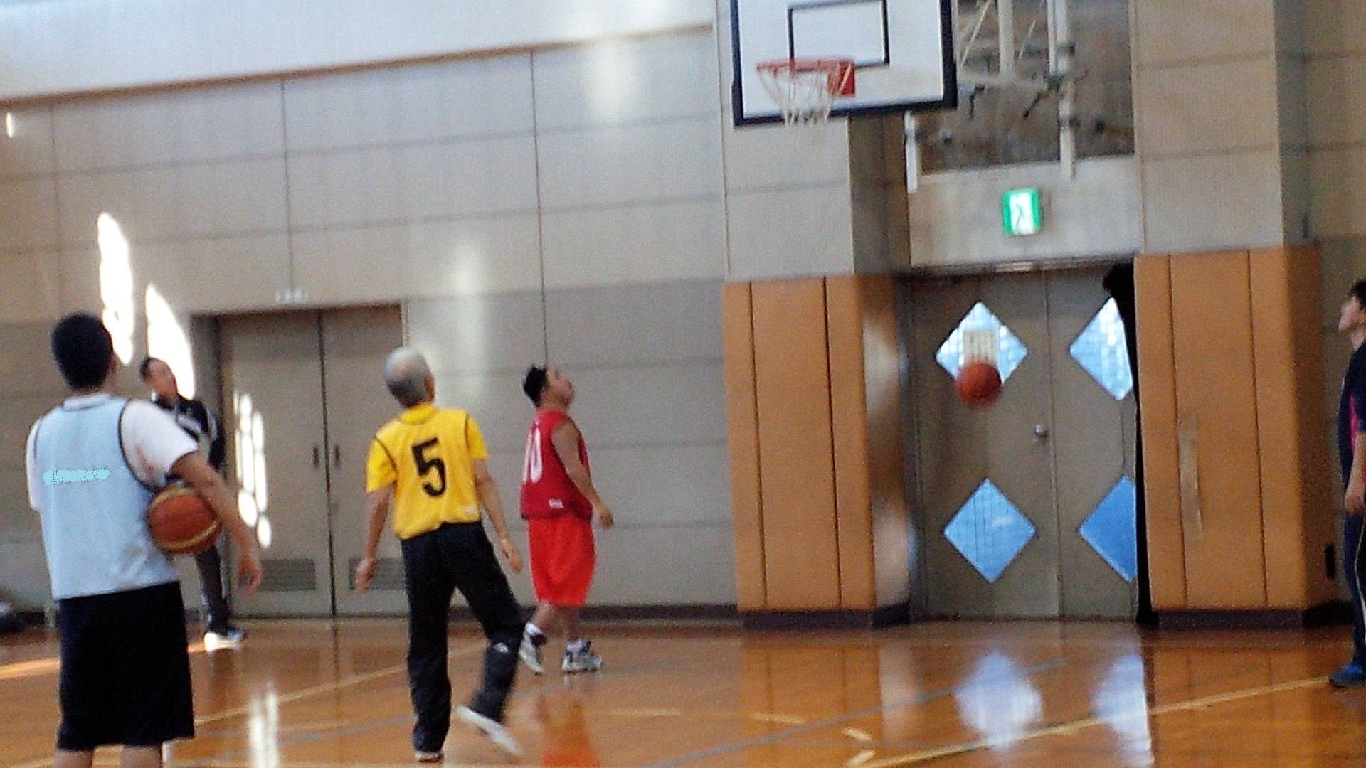 SONバスケ練習12月1-4