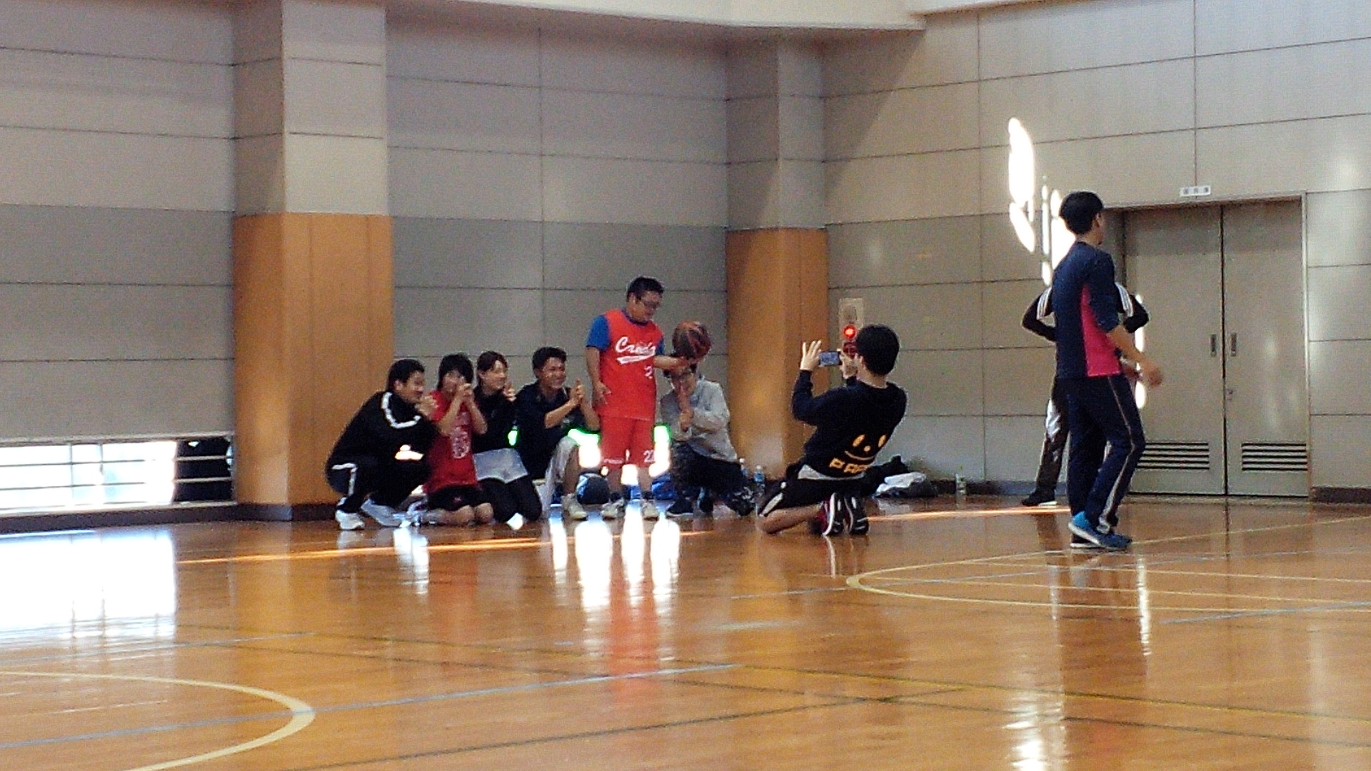 SONバスケ練習12月1-2