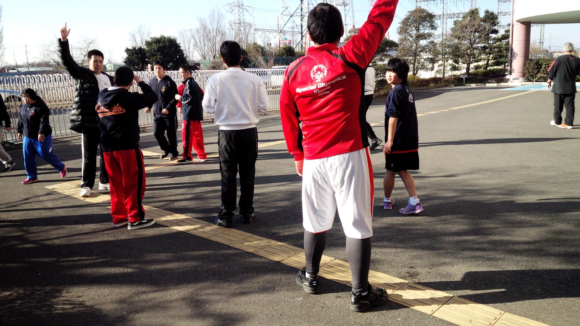 SONバスケ練習H281月①