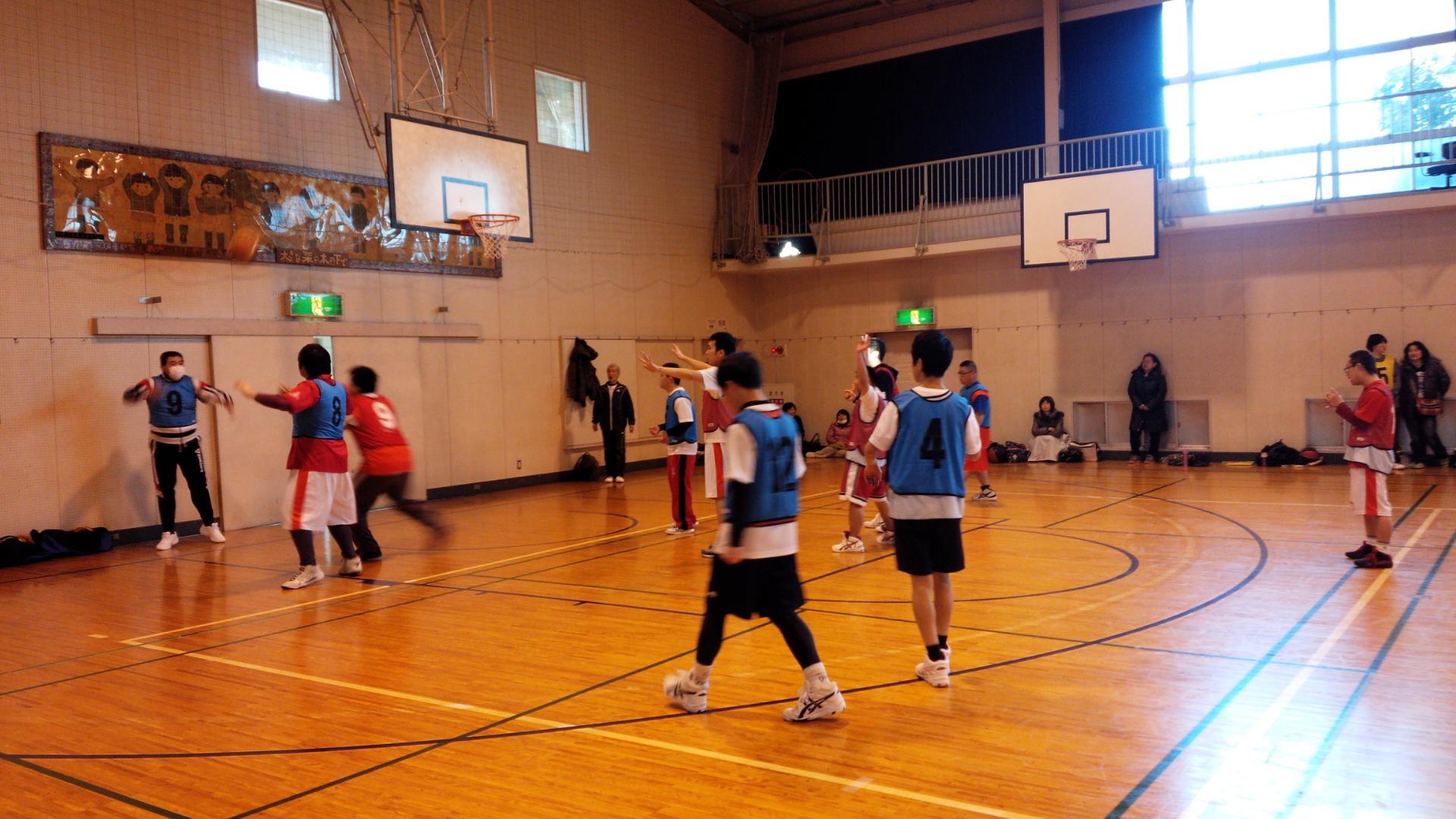 SONバスケ練習2月④