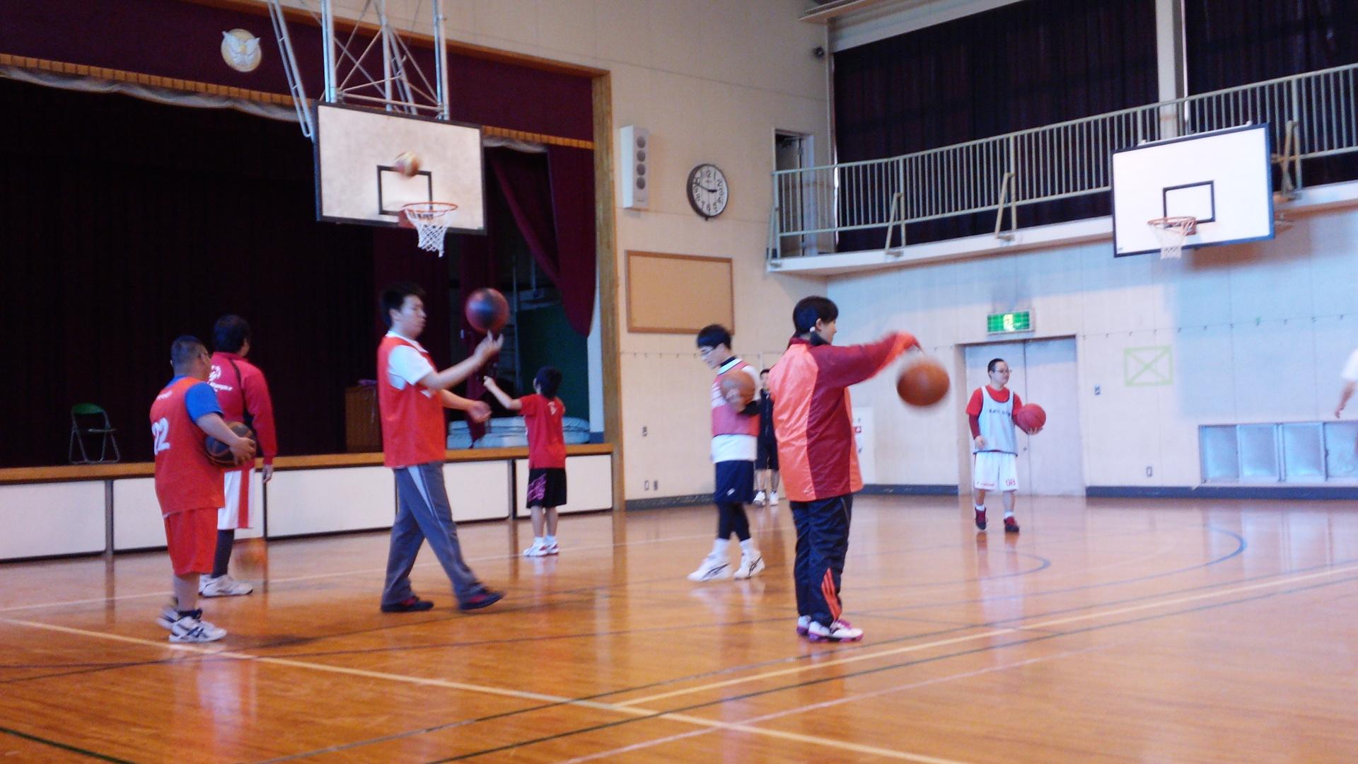 SONバスケ練習2月②