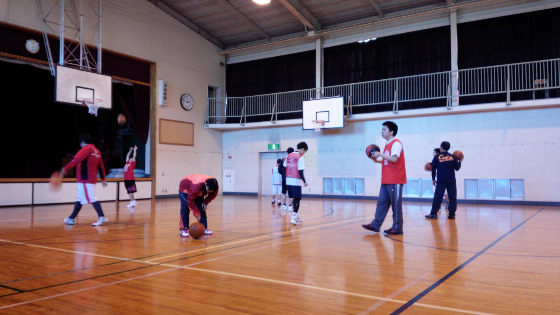 SONバスケ練習2月①