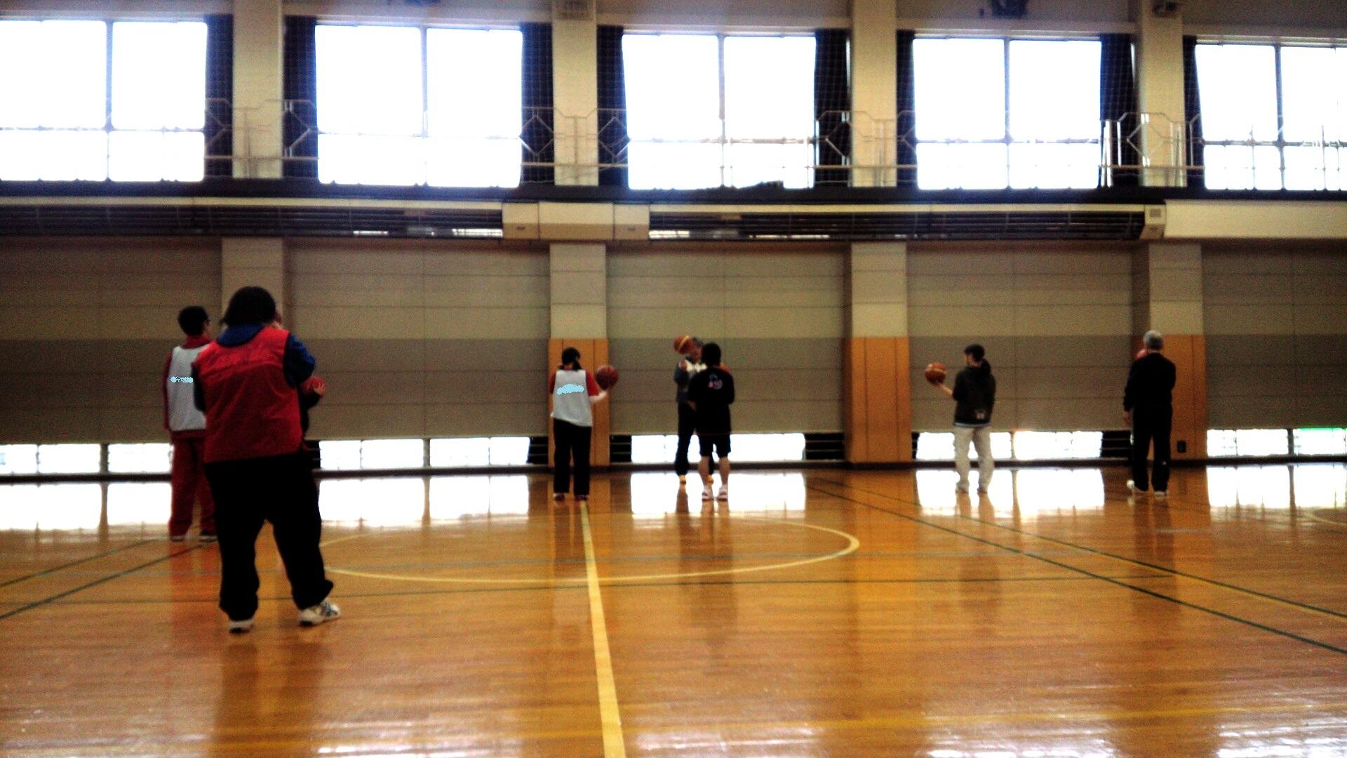 SONバスケ練習2月⑦