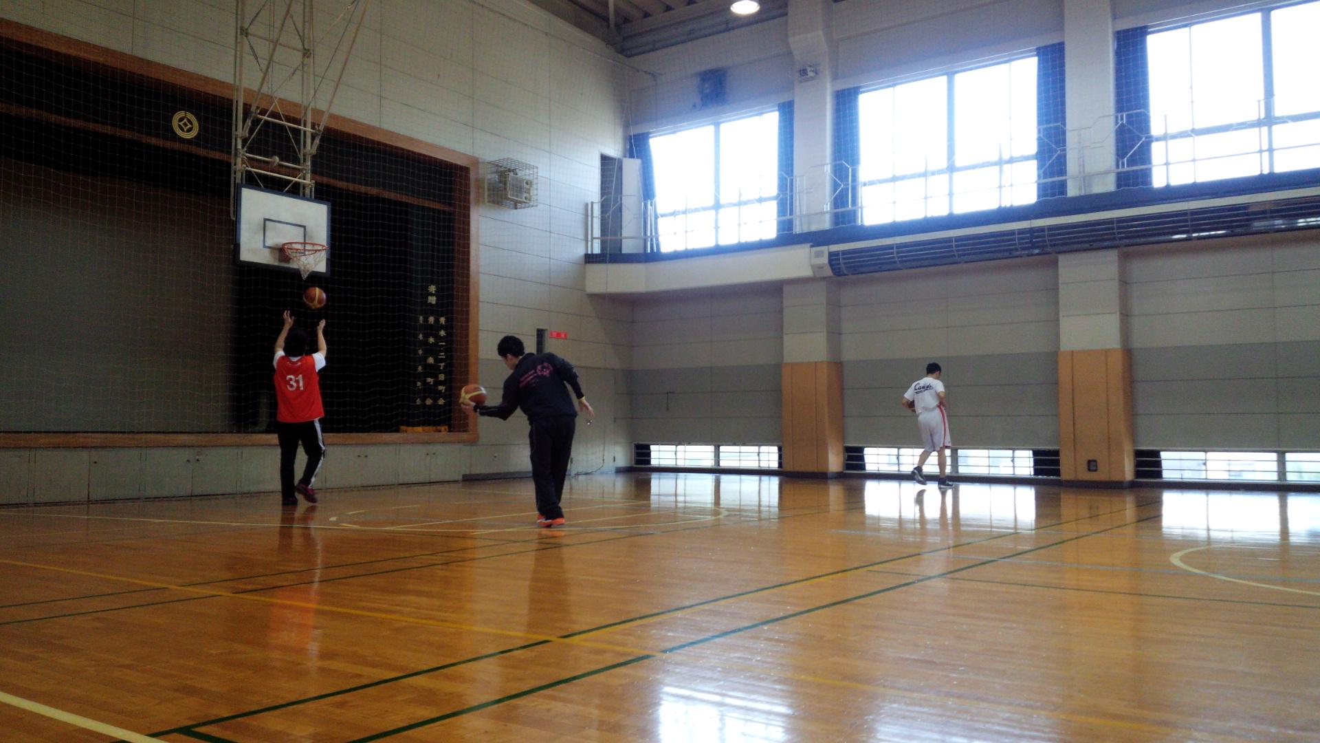 SONバスケ練習2月⑤