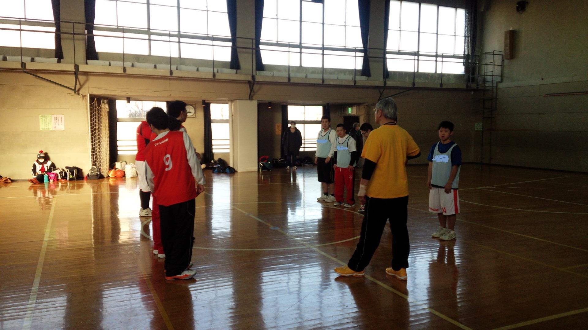 SONバスケ練習28.3月⑥