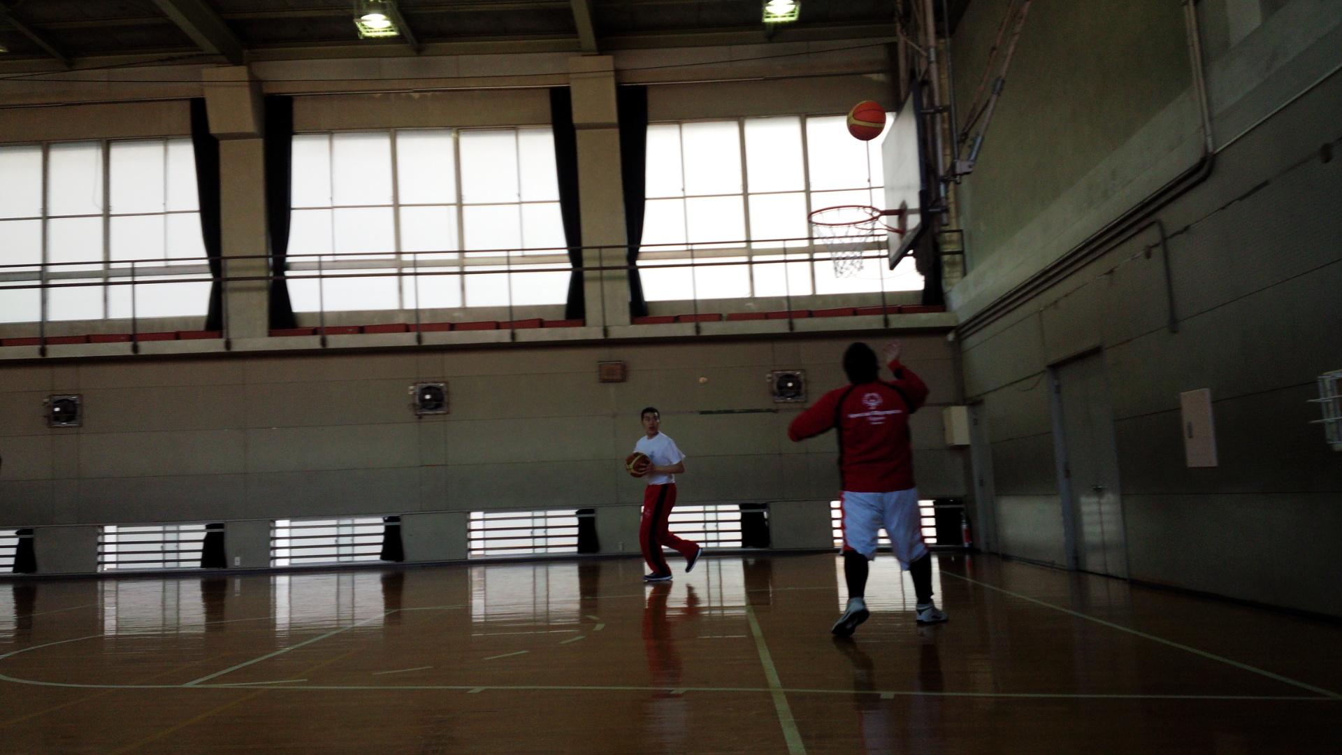 SONバスケ練習28.3月③